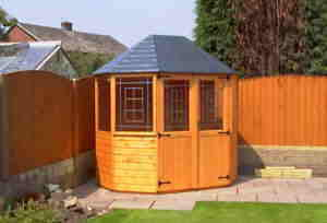 octagonal summer house